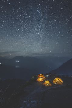 Nepal night star by Alexander Forik