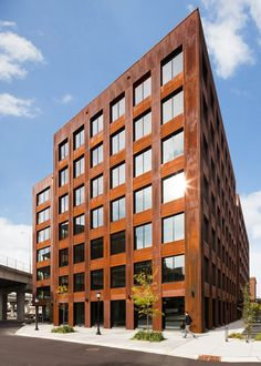 Get Ready for Skyscrapers Made of Wood. (Yes, Wood) | Michael Green Architecture built T3, a seven story building in Minneapolis. It's currently the largest wooden building in the U.S. | Credit: Michael Green Architecture | From Wired.com