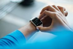 Future Smart Watch And Fitness Activity Fitbit Tracker Company Smartwatch, Yoga Fitness, Health Fitness, Fitness Workouts, Fitness Goals, Medical Technology, Wearable Technology, Technology Gadgets, Wearable Device