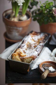 Najprostsze ciasto ucierane z jabłkami – White Plate