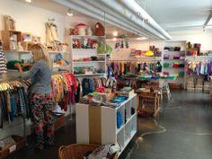 Toy Store·Children's Clothing boutique, dinBabuska - Gunløgsgade, København, Denmark