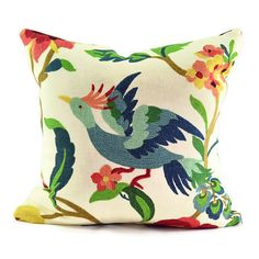 Decorative Bird Pillow Cover  Richloom Lucy by KATHLEENANNHOME, $28.00