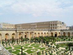 Palácio de Versalhes e seus jardins.