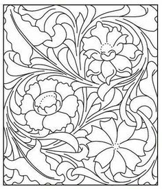 Carved/Tooled Leather pattern