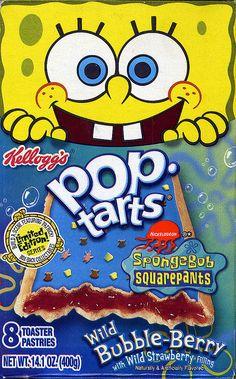 Spongebob poptart pants