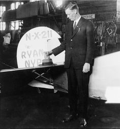 Charles Lindbergh (aviator; one-time eugenics enthusiast; co-creator of the Carrel-Lindbergh Perfusion Pump)