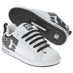 DC shoes Court White Carbon