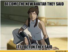 avatar korra funny - Google Search