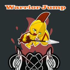 Warrior Jump for life Hero Run, Super Mario Run, Free Fun, Free Games, Ipod Touch, Tweety, Pikachu, Ipad, Superhero