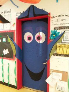 Dory fish classroom door