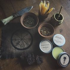 "earth-and-hedge: "" Beautiful photo of some of my products. Taken by @spiritus_arcanum this picture is now on the home page of the shop! Earthandhedge.com #witchcraft #wiccan #witch #wicca #tradwitch..."