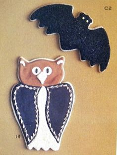 Owl & Bat Cookie Cutters