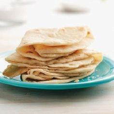 Flour Tortillas-is an easy and quick recipe for making your own tortillas There are only four ingredients and it's done in a skillet. Ingredients: Flour, water, salt and olive oil. This is also a heart-healthy, diabetic-friendly and WW (4 PointsPlus), (5 SmartPoints) recipe. Makes: (8) tortillas http://ww-recipes.org/2018/01/04/flour-tortillas/