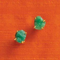 Rough emeralds  l <3 ve!