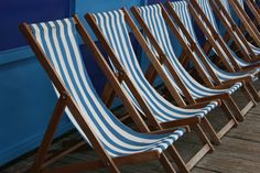 Blackpool - Deckchairs.