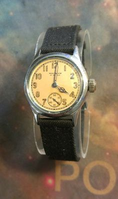 1943 Waltham WWII Original U.S. Military Dept ORD OF- 498834 Watch
