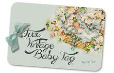 Vintage Baby Tag