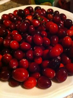 Cranberry Jam Recipe via Champagne and Edibles