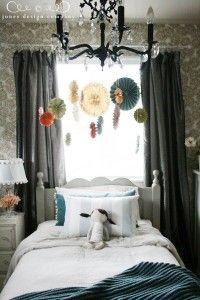 DIY hanging-medallions-in-little-girl-room