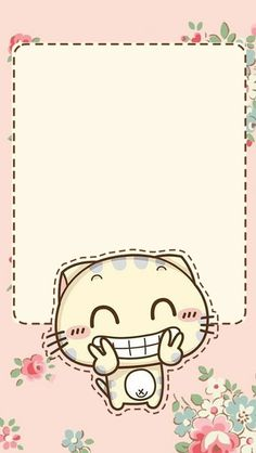 50 Ideas For Wall Paper Iphone Cute Kawaii Posts Rose Wallpaper, Kawaii Wallpaper, Wallpaper Iphone Cute, Cartoon Wallpaper, Cute Wallpapers, Wallpaper Lockscreen, Cute Backgrounds, Wallpaper Backgrounds, Printable Stickers