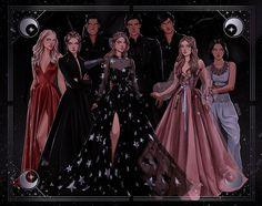 A Court Of Wings And Ruin, A Court Of Mist And Fury, Charlie Bowater, Roses Book, Fanart, Sara J Maas, Feyre And Rhysand, Sarah J Maas Books, Throne Of Glass Series
