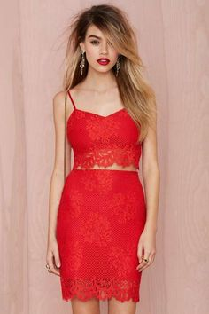 For Love and Lemons Tiki Bar Lace Skirt - What's New