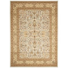 Safavieh Lyndhurst Persian Treasure Grey/ Beige Rug (8' x 11') | Overstock.com Shopping - Great Deals on Safavieh 7x9 - 10x14 Rugs
