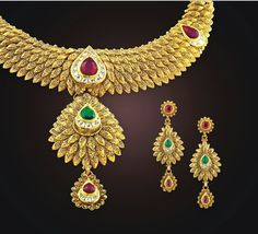 Beautiful gold necklace that accolade your beauty!!
