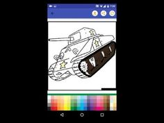 Tanks Coloring Game Android App
