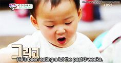 It's amazing how often I watch these kids eat and it never gets old! So cute! Minguk-ah!