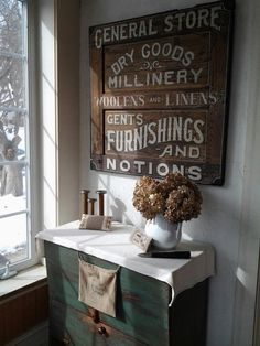 Just adore this sign from Strafford House in Doylestown Pa.