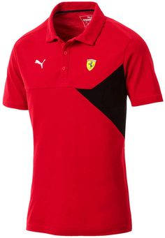 Puma Men s Ferrari Colorblocked Polo Ferrari Racing 0464c8a8485