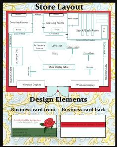 : Store Planogram and Business cards - - Boutique Decor, Boutique Interior, Boutique Design, Shop Interior Design, Boutique Ideas, Supermarket Design, Retail Store Design, Store Plan, Clothing Store Displays