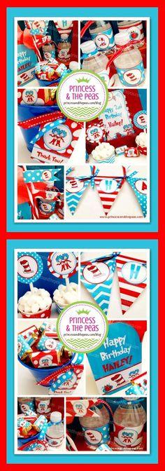 dr. seuss party ideas | dr. seuss party printables | dr. seuss printables | dr. seuss birthday party  http://www.princessandthepeas.com/blog  #drseussbirthdayparty #drseusspartyideas #drseussprintables