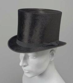 Late 19th Century Top Hat Culture English Medium plush   Headwear   Pinterest   Historical clothing Vintage clothing and Silk top & Late 19th Century Top Hat Culture: English Medium: plush   Headwear ...
