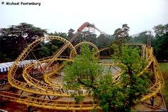 Corkscrew - Alton Towers 1980 - 2008