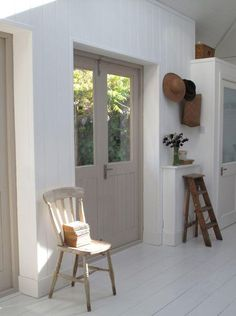 Film Location House-Summer House with gardens, verandah, with retro interior in Wandsworth Home, Internal Doors, House Styles, Home And Living, Interior, House, Interior Spaces, House Interior, Living Spaces