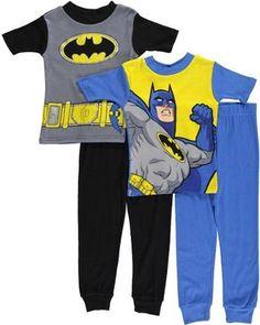 Warner Bros, Pajama Set, Little Boys, Cartoons, Batman, Lights, Amazon, Kids, Animated Cartoons