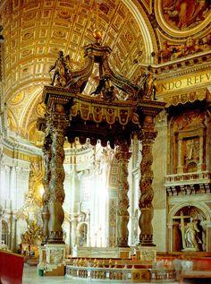 I love St. Peter's Basilica