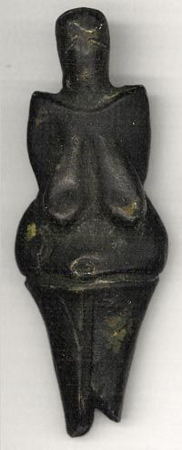 The Venus of Dolní Věstonice (Czech: Věstonická Venuše), a ceramic Venus figurine, found at a Paleolithic site in the Moravian basin south of Brno,  is, together with a few others from nearby locations,  the oldest known ceramic in the world