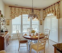 Window Valance Ideas With Floor Tiles