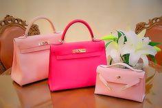 (3)   #pink #handbag #birkin #hermes