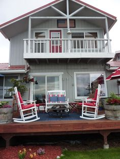 The Ocean House in Homer Alaska....best place to stay in Homer.....comfy accomodations.  Just like home!!