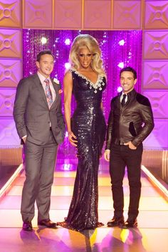 Clinton Kelly  - who is 6 m-f'n 4, RuPaul & George Kotsiopoulous.  Sorry George. RuPaul's World