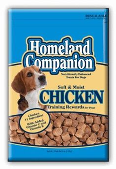 Dog Treat Chicken Homeland 4 Ounce -- Continue to the product at the image link. (This is an Amazon affiliate link)