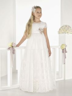 Rosa Clara Communion Dresses - First Communion dresses for 2018 The collection will arrive in November 2017 These dresses are made to order.