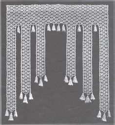 Thread Crochet Curtain Pattern | Crochet! – Free Crochet Patterns- Something For All Levels!