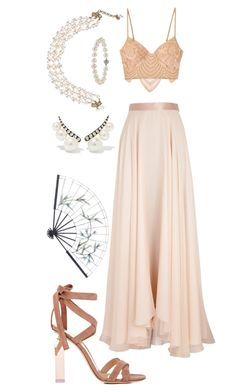Ancient Princess #17 by alicepardus on Polyvore featuring polyvore, fashion, style, Lanvin, For Love & Lemons, Gianvito Rossi, Jemma Wynne, Chanel, Annoushka, C. Jeré and clothing