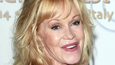 After her divorce, Melanie Griffith got her love tattoo removed. Melanie Griffith, Celebrity Plastic Surgery, Getting Old, Divorce, Love Her, Cancer, How To Remove, Actresses, Tattoo