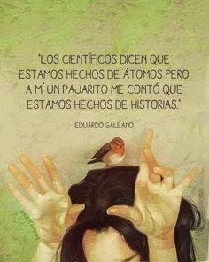 Casa de Euterpe: Frase - Eduardo Galeano